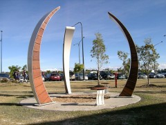 North Lakes College Entrance Sculpture